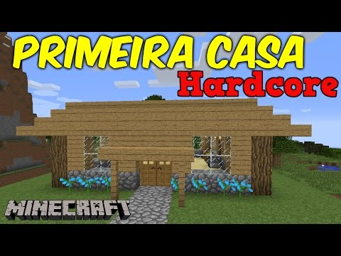 Minecraft Hardcore 1.9 - CONSTRUINDO UMA CASA #05