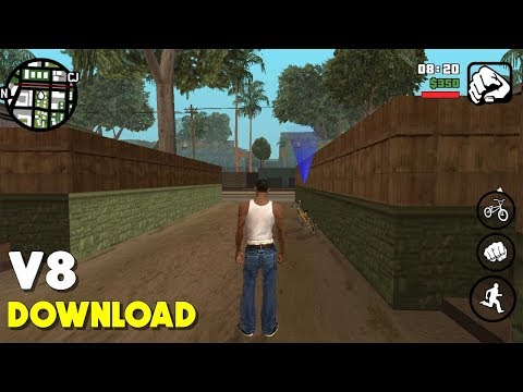 (200 MB) GTA SA :LITE for Adreno & Mali with CLEO GOLD | apk & obb | Full Android Game
