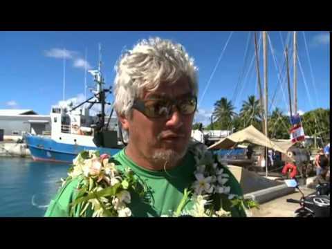 Voyage of discovery - Marumaru Atua the first  vaka home