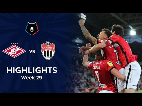 Spartak Moscow Khimki Goals And Highlights