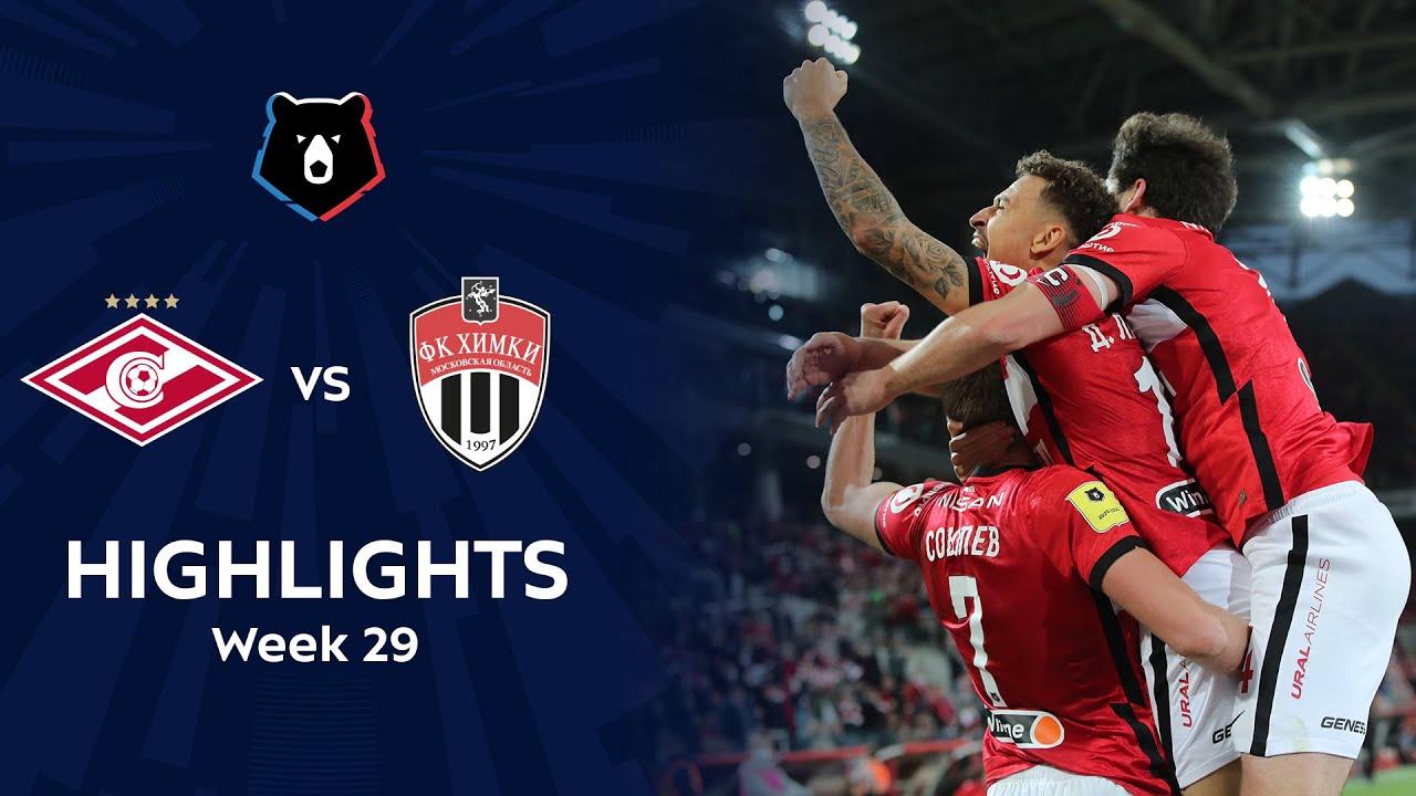 Download Highlights Spartak vs FC Khimki (2-1) | RPL 2020/21