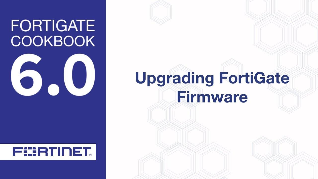 Cookbook - Upgrading Firmware (6 0)