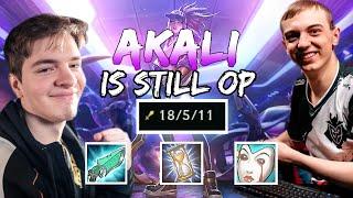 G2 Caps   AKALI IS STILL OP!!! (ft. M1kyx)