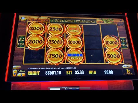 Casino Slot Action From The Star, Gold Coast. Mainly Lightning And Dragon Link