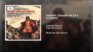 Gabrieli: Canzona No.14 à 10 (C207)