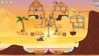Angry Birds Rio - Golden Beachball - S-23 - 176000 (1 Bird)