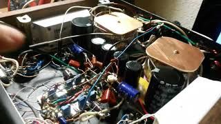 ламповый усилитель 6Н23П - 6П3С-Е