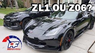 Camaro ZL1 2018 e Corvette Z06 2016 - PF AUTO REVIEW