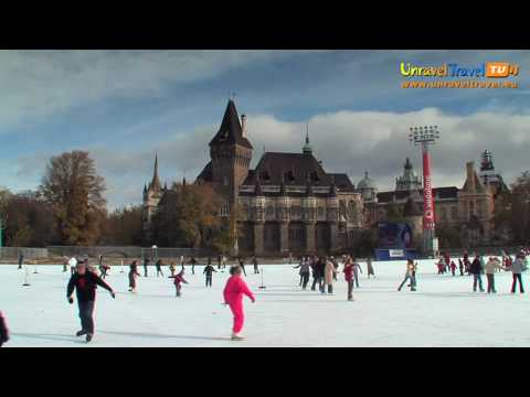Europe's largest ice-skating rink, Budapest, Hungary - Unravel Travel TV