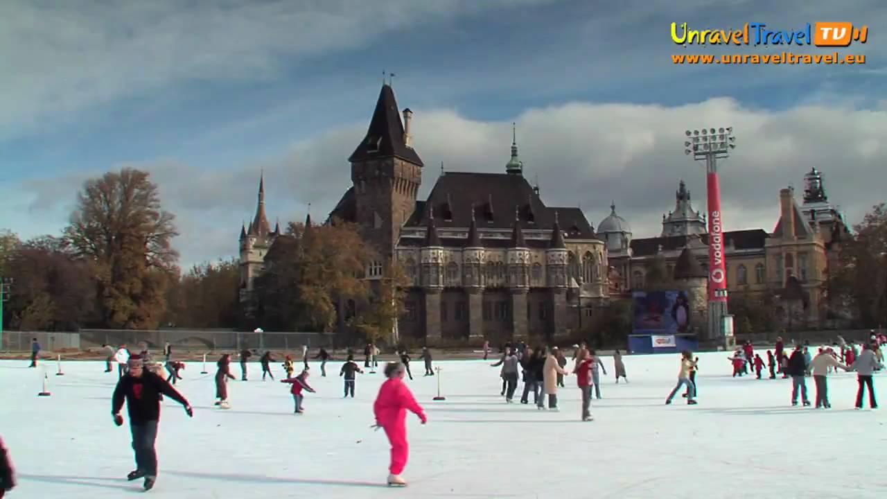 Europe's largest ice-skating rink, Budapest, Hungary ...