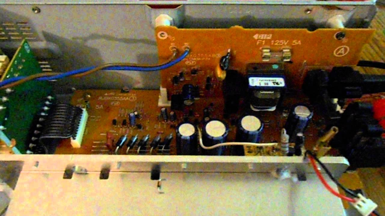 panasonic surround sound wire diagram [ 1280 x 720 Pixel ]