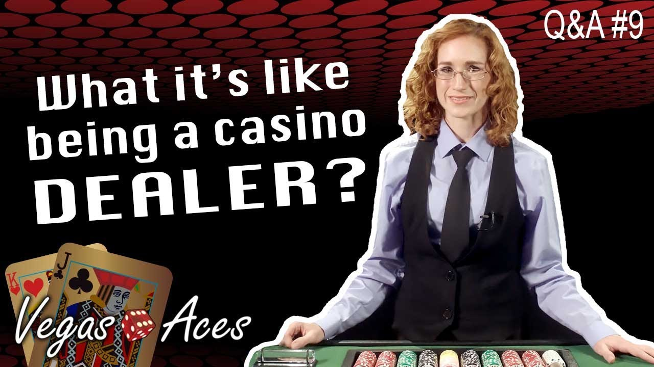 Dealer In A Casino