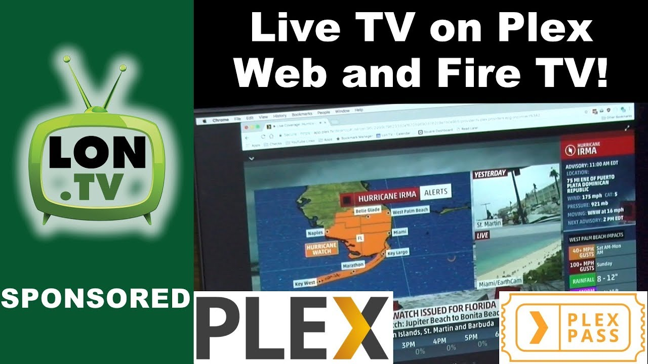 Plex Now Supports Live TV on the Web, Amazon Fire TV and