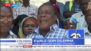 Kwale ODM leaders unhappy with Jumwa's expulsion from the party