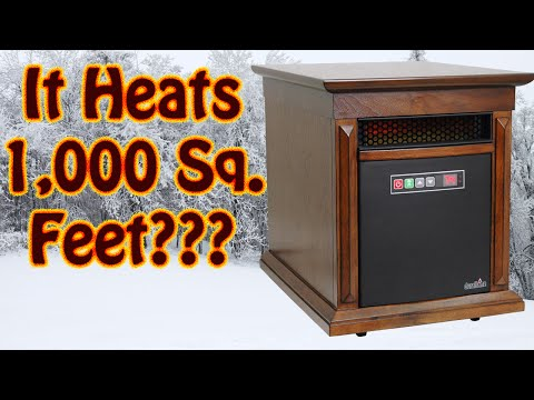 Duraflame Infrared Quartz Space Heater Review - Winterize Your Home