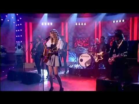 Taylor Swift - Teardrops On My Guitar Live Paul O´Grady Show