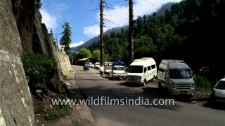 Bridge Connects New Manali And Old Manali - Himachal Pradesh