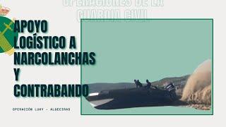 """Desarticuladas varias organizaciones dedicadas al apoyo logístico de """"narcolanchas"""" y al contrabando"""