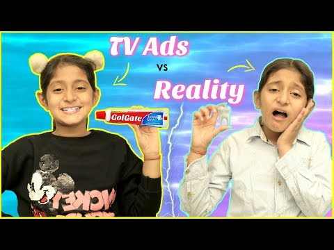 TV Ads vs REAL LIFE … | #Roleplay #Fun #Sketch #MyMissAnand