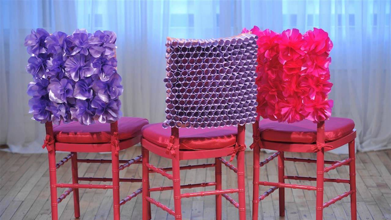 HOW TO  Make Chair Cover  YouTube