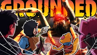 ATTACKED BY GIANT SPIDERS! - Grounded Ep. 2!