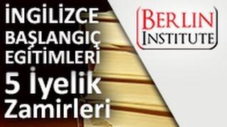 İngilizce Başlangıç Eğitimi 5 - İyelik Zamirleri (HD)