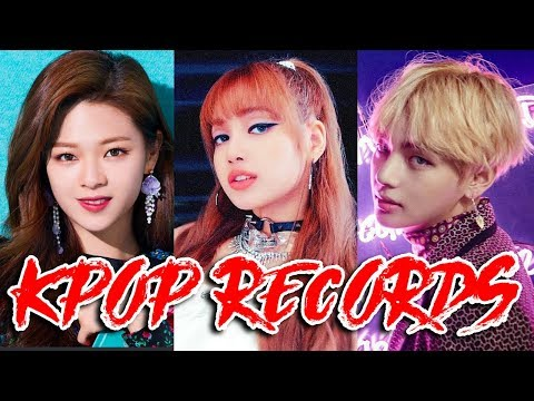 THE ACTUALLY KPOP RECORDS OF ALL TIME