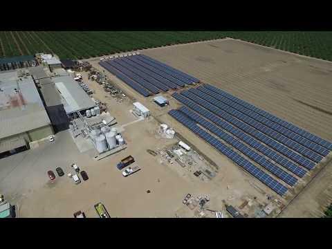 Spectrum - San Joaquin Winery Solar Panel