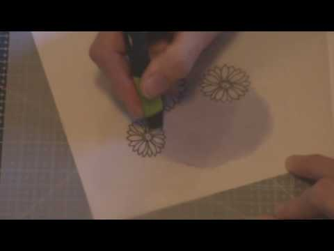 Parchment Craft beginners lesson 1 part 2 of 4