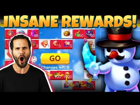 JT's F2P INSANE Rewards + Hero Collector Castle Clash