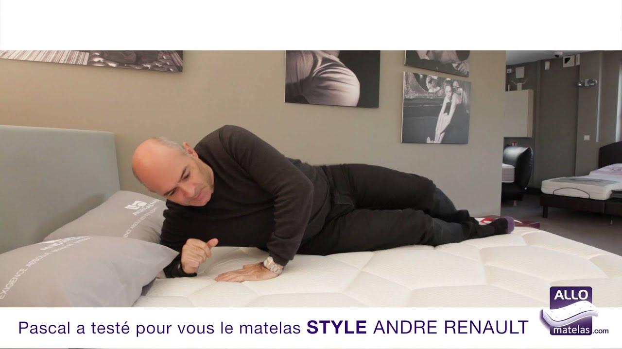Matelas Style Andre Renault Teste Par Pascal Allomatelas Youtube