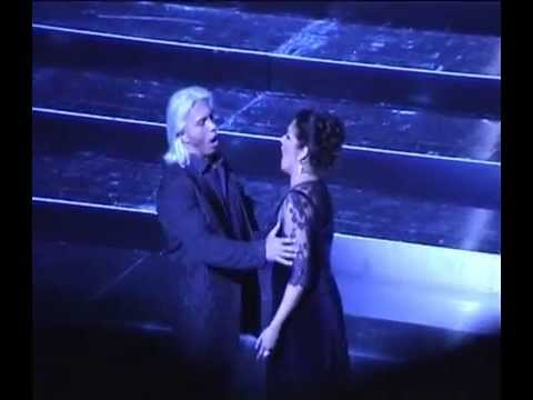 "Netrebko-Hvorostovsky at the opera ""Eugene Onegin"" ViennaV"