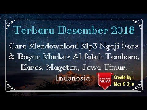 Terbaru Cara Download Ngaji Sore Bayan Mp3 Radio Trangkil Fm Desember 2018