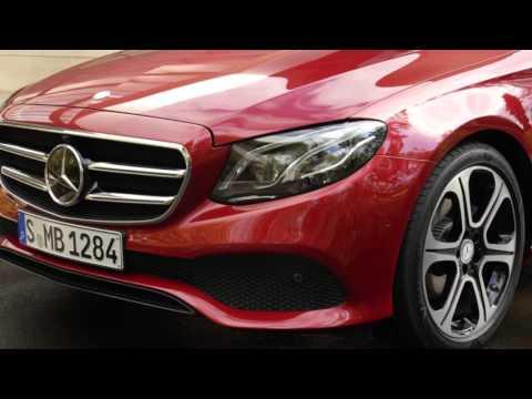 Mercedes-Benz E-Class - footage