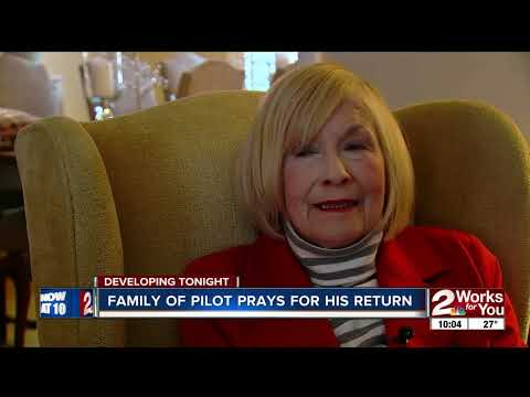 Bill Kinsinger's family holds out hope after pilot disappears over Gulf of Mexico