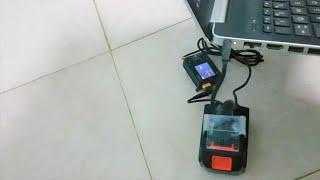 Chế module SẠC DỰ PHÒNG cho laptop dùng Pin máy khoan