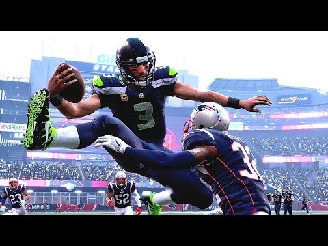 Madden 19 Seahawks Vs Patriots (Best Hurdles In Football History) *All-Madden Edition Xbox One X