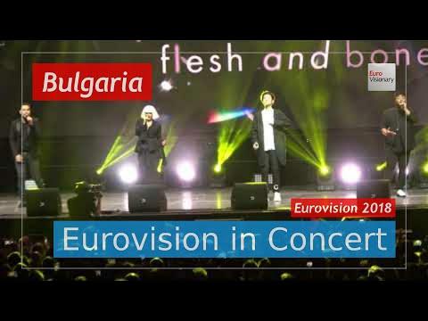 Bulgaria Eurovision 2018 Live: EQUINOX ft. Kristian Kostov - Bones - EiC - Eurovision Song Contest