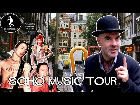 London Music Tour Of Soho
