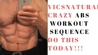 Crazy abs- workout sequence.