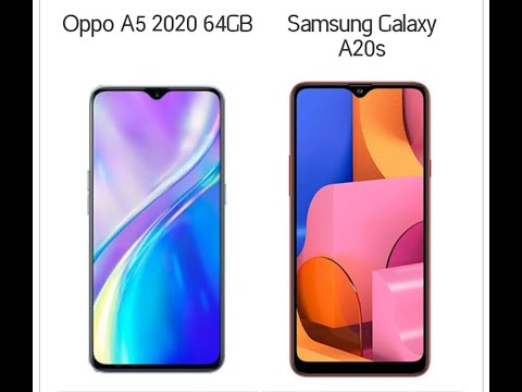 Comparison B/w Oppo A5 2020 & Samsung Galaxy A20s By || Naeem Production ||