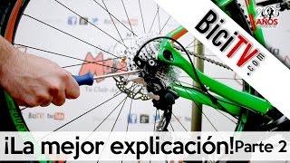 Cómo ajustar el cambio trasero de bicicleta. Solución de problemas 2/2
