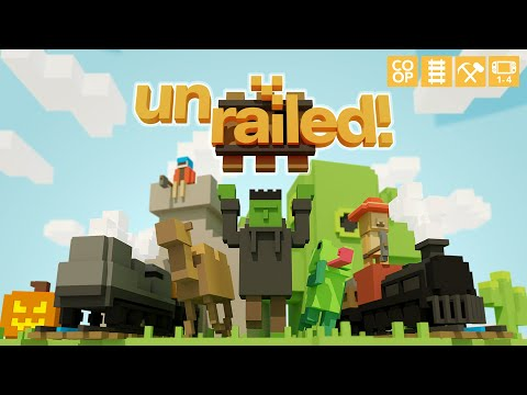 I Suck at this Game| Unrailed! |