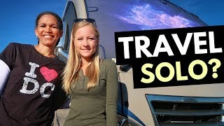 RV LIVING as a SOLO FEMALE 🚐🇺🇸 Insights About RV Life and Traveling