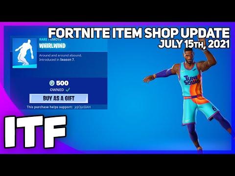 Fortnite Item Shop *RARE* WHIRLWIND IS BACK! [July 15th, 2021] (Fortnite Battle Royale)