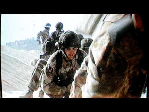 Desert Rats, gulf war, Rifle Company attack with Tank support