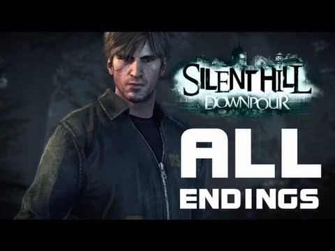 Silent Hill Downpour: Все концовки