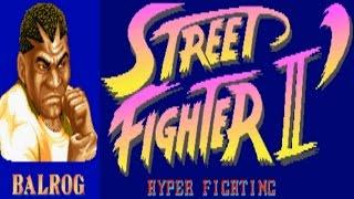 Street Fighter II - Hyper Fighting - Balrog (Arcade)