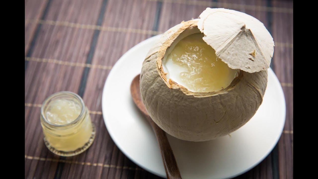 椰皇燕窩鮮奶燉蛋白│01教煮 - YouTube