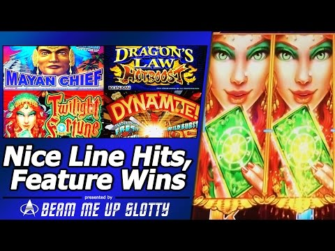 Nice Line Hits and Feature Wins in Various Aristocrat, Konami and Multimedia Games slots from YouTube · High Definition · Duration:  2 minutes 8 seconds  · 3 000+ views · uploaded on 14/04/2015 · uploaded by BeamMeUpSlotty - SoCal Slot Machine Videos